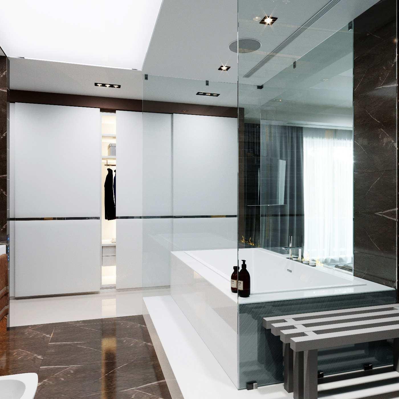 ванная гардеробная