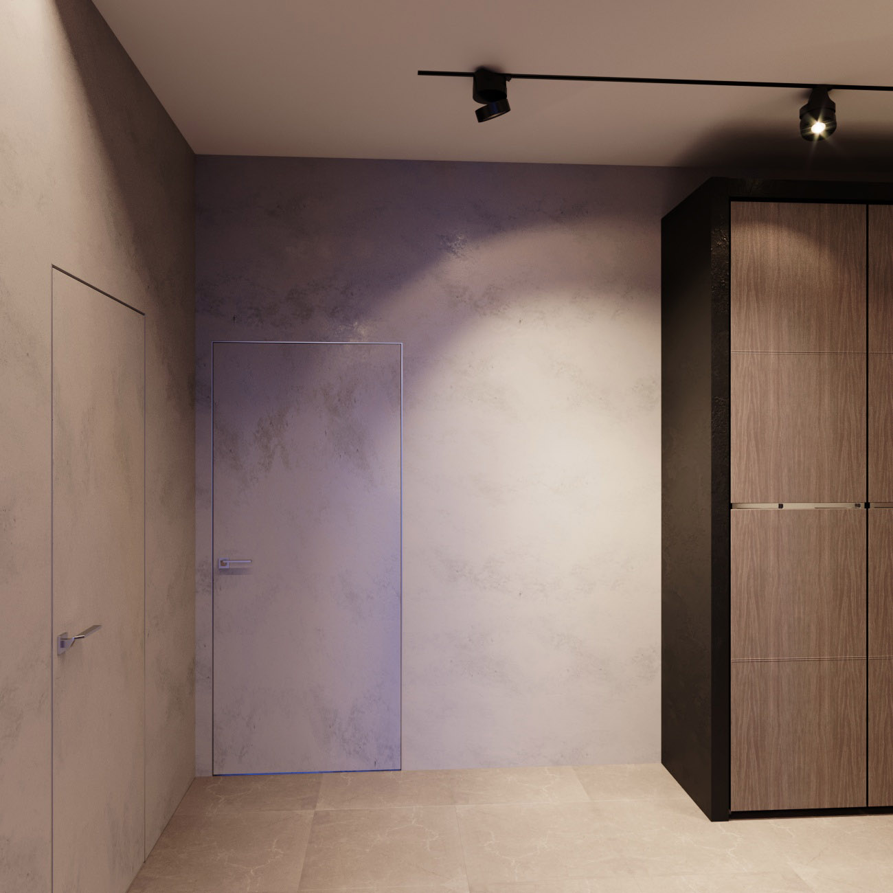 Дверь невидимка
